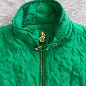 Michael Kors Women's Green Vest